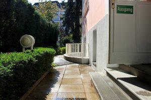 Der Garten der Bibliothek