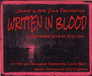 Logo Written in Blood