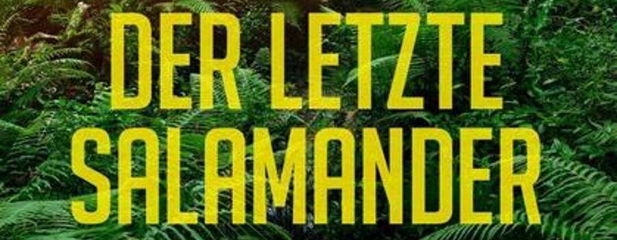 Cover Ausschnitt: H.K. Ysardsso: Der letzte Salamander